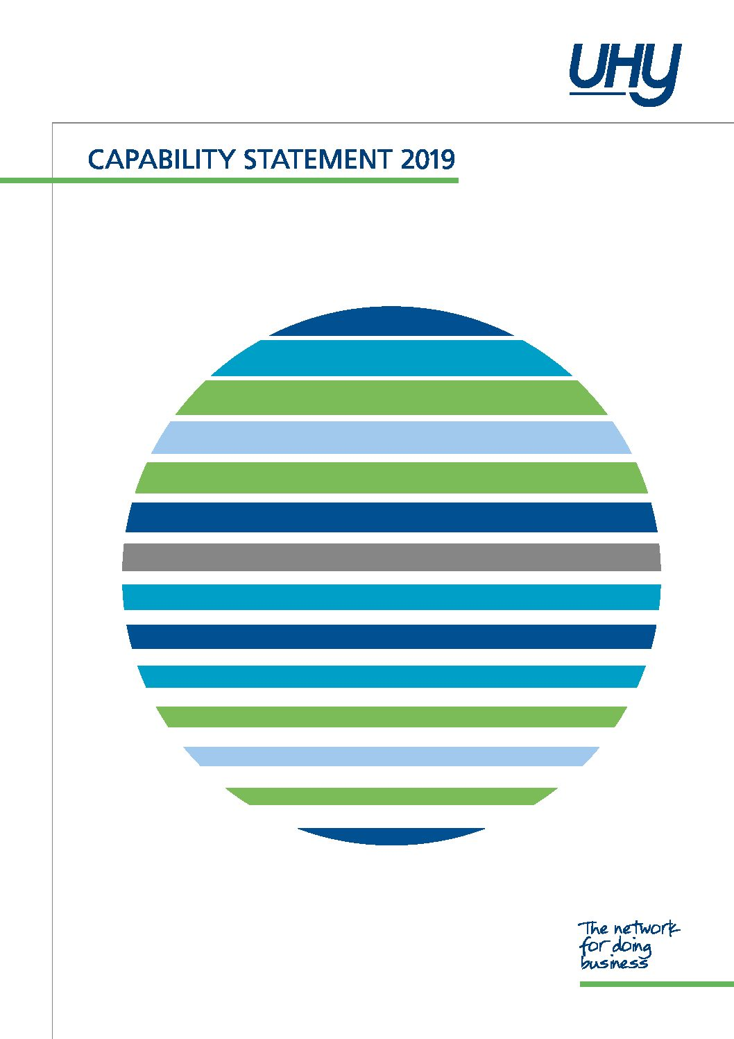 UHY International capability statement 2019